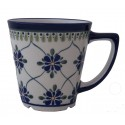 Polish Pottery SWEETHEART 13-oz Latte Stoneware Mug | ARTISAN