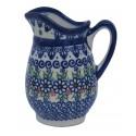 Polish Pottery Vena JOANN MILK Stoneware Jug | UNIKAT