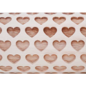 """4.5"""" Embossing Rolling Pin HEART (MD)"""