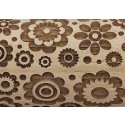"4.5"" Embossing Rolling Pin Medium Boho Flower"