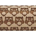 """4.5"""" Embossing Rolling Pin Owls"""