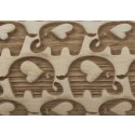 "4.5"" Embossing Rolling Pin ELEPHANT LOVE"