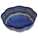 Polish Pottery Vena JOANN Scalloped Stoneware Bowl | UNIKAT