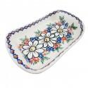 Polish Pottery REJUVENATE Stoneware Boat Platter | A-UNIKAT