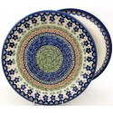 "Polish Pottery Vena DANCE 10.25"" Dinner Stoneware Plate"