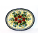 "Pottery Avenue Warm Glory 11.5"" Oval Stoneware Plate-Platter"