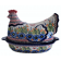 Pottery Avenue 1.5L Strawberry Butterfly Hen Covered Casserole