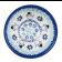 Stoneware Rice Bowl (MD) - V475-C312 CLASSIC SNOWMAN